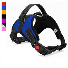 Large Dog Harness No Pull Vest Belt Pet Adjustable Reflective Walk Strap Collar