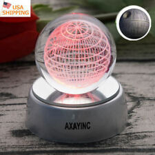 Star Wars The Last Jedi Death Star 3D Crystal Night Light LED Table Lamp Gift