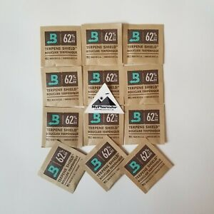 Boveda RH 62% 2 Way Humidity Control Micro 4g Gram - 12 pack Save $ w/MyPharmJar
