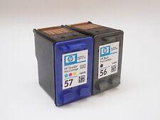 2 für HP 56 & 57 PSC1210 PSC1215 PSC1315 PSC1350 PSC2210 Deskjet 5150 5550 5650