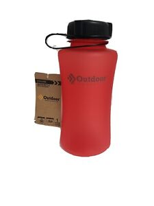OUTDOOR PRODUCTS 1 LITER CYCLONE WATER BOTTLE RED