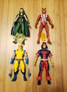 Marvel Legends GIANT SIZE X-MEN lot:1ST APPEARANCE WOLVERINE, SUNFIRE more...