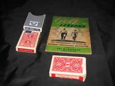 Vintage Pat McDonald PRO Golf Lesson Book ROB ROY Golfing Golfer Collectible
