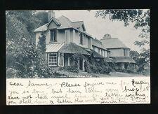 Devon LYNTON Castle Cottage Hotel 1902 u/b PPC