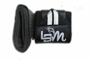 Elastic Weight Lifting Wrist Support - With Thumb Loops