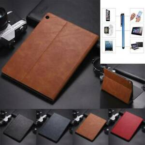 """For Huawei MediaPad M3 M5 M6 8.4"""" 10.8"""" Tablet Smart PU Leather Stand Case Cover"""