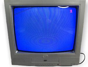 "Durabrand DCT1492S TV DVD Combi 14"" Scart RCA Input Retro Gaming TV"