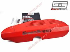 """""""IN STOCK"""" GRIMMSPEED RED ALTERNATOR COVER FOR 2002-2014 WRX / 2004-2017 STI"""