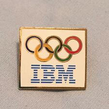 Vintage Ibm Olympic Rings Stick Pin