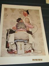 Norman Rockwell The Tatooist - Lot of 19 Prints (1944) Free Shipping