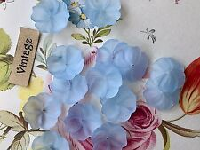 Vintage Flower Beads, Lucite beads, 14mm Roses, Floral Beads, Bead Caps #1217A