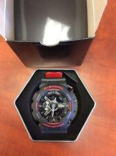 New Casio GA110HR-1A G-Shock 2-Tone Layer Black/Red Ana-Digital Men's Watch