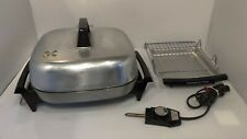 VTG Hoover Stainless Steel Broiler Lid Fry Pan Model B3039