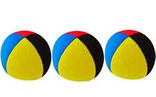 3 X  Henrys Jonglierball Bean Bag Superior medium 67 mm ROT BLAU GELB SCHWARZ