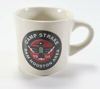 Vintage 1994 Camp Strake Sam Houston Boy Scouts of America Coffee Mug Cup