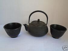 Vintage Cast Iron Japanese Tea Kettle