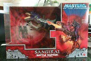 MOTU 200x Masters Of The Universe Samurai Battle Raptor New