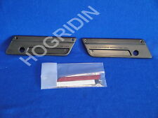 Harley touring electra glide saddlebag latch cover latches covers face plate kit