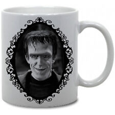 HERMAN MUNSTER COFFEE MUG! horror munsters goth frankenstein vtg classic lily