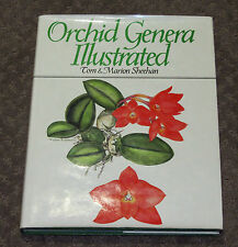 ORCHID GENERA ILLUSTRATED Tom & Marion Sheehan hard cover