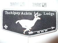 OA Tschipey Achtu Lodge 95,F-1b,Deer Glows NDark Flap,417,TRS,Twill,Rochester,NY