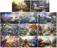 Thomas Kinkade Collection Disney prints, FULL SET OF 11 PRINTS!!