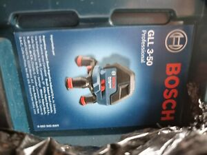 Bosch Professional System Laser Level GLL 3-80 with 4x aa batteries