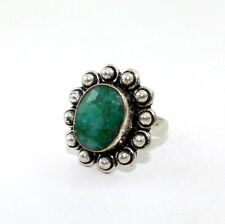 NATURAL  FACETED EMERALD  GEMSTONE  RINGS 10 GRAMS SIZE 8 US