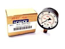 NOSHOK 0-6000 PSI Gauge 3845K25 NOS