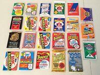 Lot of Baseball Wax & Foil Packs -- UNOPENED!!