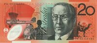 Australian Mint $20 FK08 209499 Stevens Henry Polymer Banknote Issue r421b