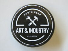BEER BUTTON Pinback ~ ART & INDUSTRY ~ North Bend, WA Educational Community Idea