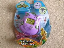 2008 Disney Pixie Hollow Clickables Fairy 5 Flitterific Games