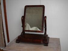 Will IV Mahogany Dressing Table Mirror (Original Glass)Circa 1830