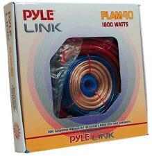 PLAM40 20ft 4 Gauge 1600W Amplifier Hookup For Battery Head Unit & Speakers Kit