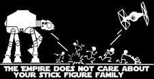 Star Wars ATAT & Tie Fighter Inspired 'The Empire Doesnt Care About Your Stick -