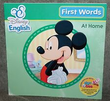 Disney English First Words - at Home (2012, Paperback)