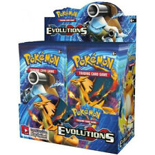 Pokemon XY Evolutions Booster New Sealed TCG Card Game - Half Booster Box