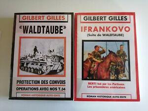 2 volumes Gilbert Gilles Waldtaube + Ifrankovo (suite de Waldtaube)