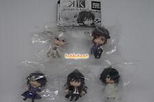 Takara Tomy ARTS K Return of KINGS Deform Mini Mascot Figure Set of 5