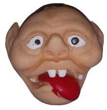 Vintage 1980s Jiggler Finger Puppet - Freak Monster Batboy Goofy
