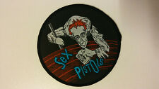Sex Pistols Johnny Rotten music patch metal band glamrock rock aufnaher