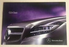 Mercedes . CLS Class . Mercedes CLS Class . August 2010 Sales Brochure