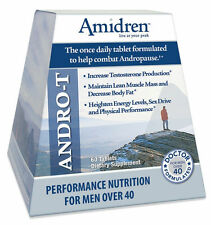 MHP Amidren Testosterone Booster - 60 capsules - MUSCLE, LIBIDO, STRENGTH