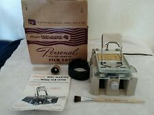 Viewmaster FC-1 Personal Stereo Camera Film Cutter works w/original box manual