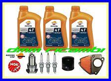 Kit Tagliando HONDA SHADOW 600 99>00 Filtro Aria Olio Candele NGK VT C 1999 2000