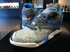 New In Box $150 Reebok Court Victory Pump x Basquiat Shoes Size 9 Tin Grey/Blue