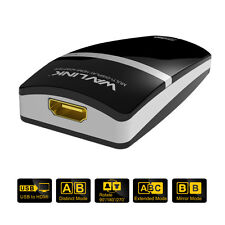 Wavlink USB 3.0 To DVI / HDMI Video Graphics Adapter Display Converter Adapter