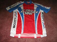 "Scott USA Dealer CAMP 1998 Italiano Ciclismo Jersey [40""]"
