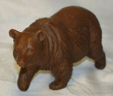 Brown Grizzly Bear Walking - Vintage - Red Mill Manufacturing Company - 1987